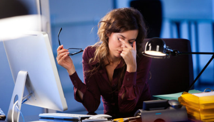 Office habits that affect health of employees